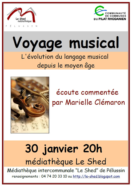 VOYAGE MUSICAL AU SHED